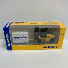 F/S KOMATSU Official Diecast Model forklift FH160-1 (Not for sale) 1:87 NEW