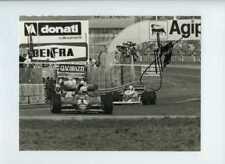 RENE ARNOUX FERRARI 126 C2B San Marino Grand Prix 1983 signé Press Photo 1