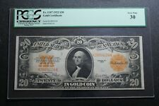 1922 $20 Gold Certificate Fr. 1187 PCGS 30 (30389)
