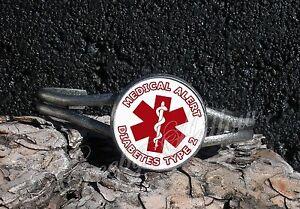 Choose Medical Alert Message Cuff Bracelet