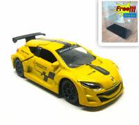 Majorette Renault Megane Trophy Yellow 1:64 222D Black wheel