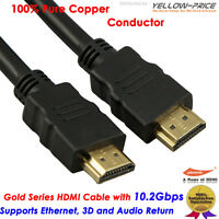 Canadian Seller 6FT HDMI 1.4 3D Cable HDTV Hi Speed+Ethernet ps3 bluray 1080p