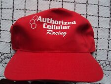 Hydroplane Hat Authorized Cellular Racing Red Vintage Snapback Adjustable NEW