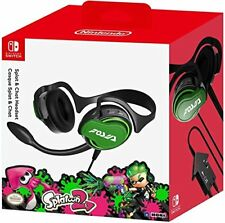Official HORI Nintendo Switch Splatoon 2 Splat and Chat Headset NEW