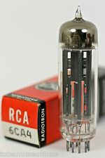 NOS RCA 6CA4 EZ81 RECTIFIER TUBE MADE IN USA 1960's - 1970's NEW IN ORIGINAL BOX