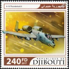 Fairchild Republic A-10 THUNDERBOLT II Warthog Close Air Support Aircraft Stamp