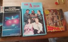 Vintage Puzzle Lot Space 1999 A-Team Close Encounters Of The 3Rd Kind 1Pc Gone