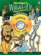 Denslow's Wizard of Oz Illustrations CD-ROM and Book (Dover Electronic Clip Art)