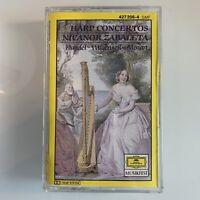 Handel Wagenseil Mozart Harp Nicanor Zabaleta (Cassette)