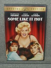 Some Like It Hot (Dvd, 2001, Special Edition) Marilyn Monroe Tony Curtis Jack L.