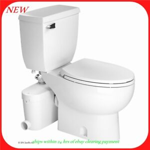 Saniflo Sani Access2 Grinder Pump, Macerating Upflush Toilet Kit 3-pc Set
