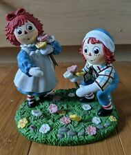 Danbury Mint 'Just For You' Raggedy Ann & Raggedy Andy 1998