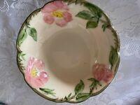 Vintage FRANCISCAN Desert Rose Coupe Cereal Bowl - Made in U.S.A. - Estate Item