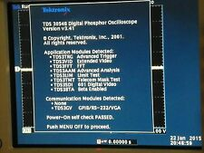 Tektronix TDS3054B, 500MHz 5GS/s,3FFT,3TRG,3VID,3TMT,3AAM,3LIM,3SDI,3BTA