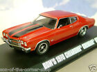 Fast & Furious Doms 1970 Chevrolet Chevelle SS Greenlight 86216