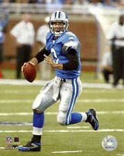 JOEY HARRINGTON 8x10 Action Photo @ Ford Field DETROIT LIONS #3 QB Football Star