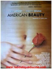 AMERICAN BEAUTY Affiche Cinéma / Movie Poster KEVIN SPACEY / ANNETTE BENING