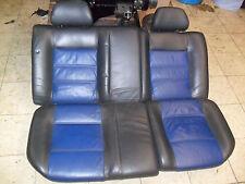 VW Polo 6N Recaro Colour Concept schwarz blau Sitze Ausstattung Innenausstattung