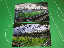 2 x Hull FC KC Stadium Photographs Signed x Both The 2013 & 2014 Squads!