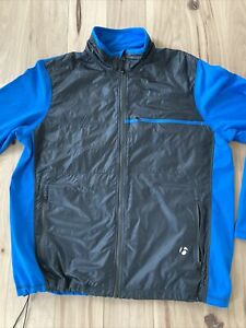 Bontrager Men's Cycling Jacket Blue Excellent Condition Free Shipn Fits Like XL