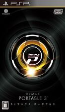 Used PSP DJ Max Portable 3  Japan Import ((Free shipping))