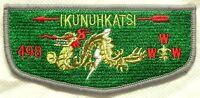 MERGED IKUNUHKATSI OA LODGE 498 803 FAR EAST JAPAN S1 FIRST SOLID SERVICE FLAP