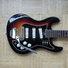 "Teisco E-Gitarre - rare 1960s/70s vintage - Mosrite style ""Hertiecaster"" Japan"