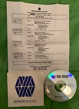 """No Doubt / Space / Verve Pipe """"On the Edge"""" Westwood One Radio # 97-30 with Cue"""