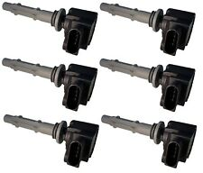 For Dodge Sprinter 2500 Mercedes W203 S203 Set of 6 Ignition Coils Delphi