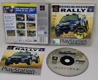 COLIN McRAE RALLY Sony Playstation 1 Game PS1 PLATINUM FAST POST
