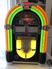 Crosley Wurlitzer Wr18 Bubbler Jukebox Fm/Cd Radio Original Remote