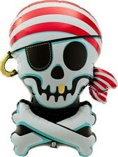 Party Supplies Boys  Birthday Pirate Jolly Roger Foil Balloon