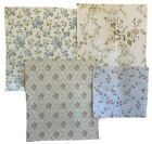 Beautiful 4 French 20th century floral wallpapers 3232