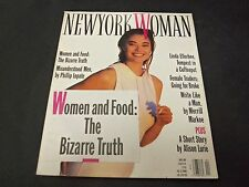 1990 APRIL NEW YORK WOMAN MAGAZINE - KYM HENDERSON FRONT COVER - O 6124