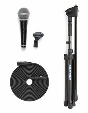 Samson VP10X mint Microphone Value Pack R21S Dynamic Mic w/ Boom Stand Bundle