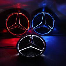 Illuminated 2013-2016 Car Led Grille BlLED Logo Emblem Light For Mercedes Benz