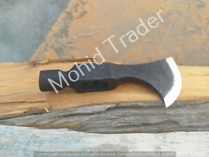Hand Forged Tomahawk Axe Head/ Balck Head / Pure Viking style