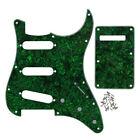 Strat Guitar Pickguard SSS 11-Hole Scratch Plate Treomolo Back Cover Pearl Color