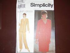 Simplicity 9128 Misses jacket, skirt, pants UC-FF Pattern sz8-12