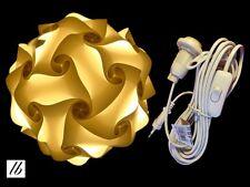 DIY Lampe Größe XXL (47cm) + Kabel, Puzzle Lampe, Lampada Romantica, Jigsaw Lamp