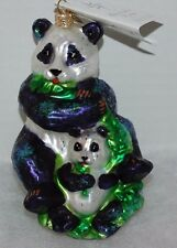 Radko Panda Love Christmas Ornament 01-May-09 Giant Panda Conservation Fund