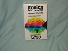 NEW SEALED Konica L-750 SUPER SR Blank Betamax beta Tape (NOT VHS)  DL43