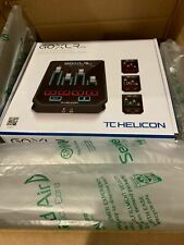 TC Helicon GoXLR Mini Mixer & USB Audio Interface Streamers Gamers & Podcasters