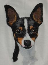 Embroidered Ladies Fleece Jacket - Toy Fox Terrier Bt4539 Sizes S - Xxl