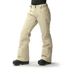 NWT OAKLEY Hemlocks Goretex Biozone INSULATED PANT WoodGray 521543 Womens S $320