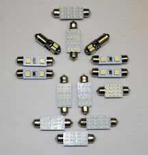 14x BMW 5 Series - E34 White LED Interior lighting kit