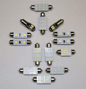 14x BMW 5 Series - E34 White LED Interior lighting kit