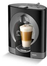 Krups Nescafe Dolce Gusto Oblo Kapsel-Kaffeemaschine Schwarz NEU
