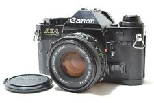 [Excellent] Canon AE-1 Program SLR Film Camera w/New FD 50mm f/1.8 Lens #0827