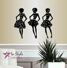 Wall Vinyl Decal Girls Women Ladies Models Modeling Fashion  Style Decor 787